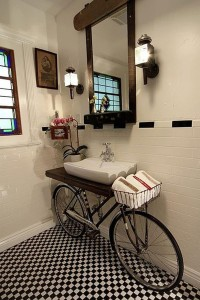 Bicycle Sink Stand