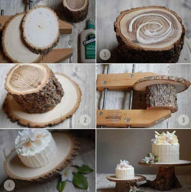 DIY Log Decor Ideas