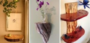 Home Decor Ideas Using Logs