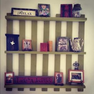 Pallet Decorative Shelves