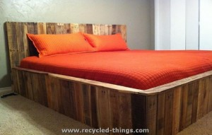 Pallet King Size Bed
