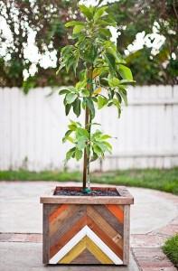 Pallet Made Planter Box