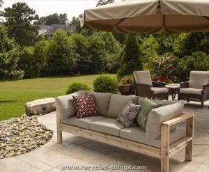 Patio Furniture from Pallet Wood