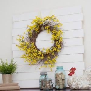 Pallet Wreath Home Decor
