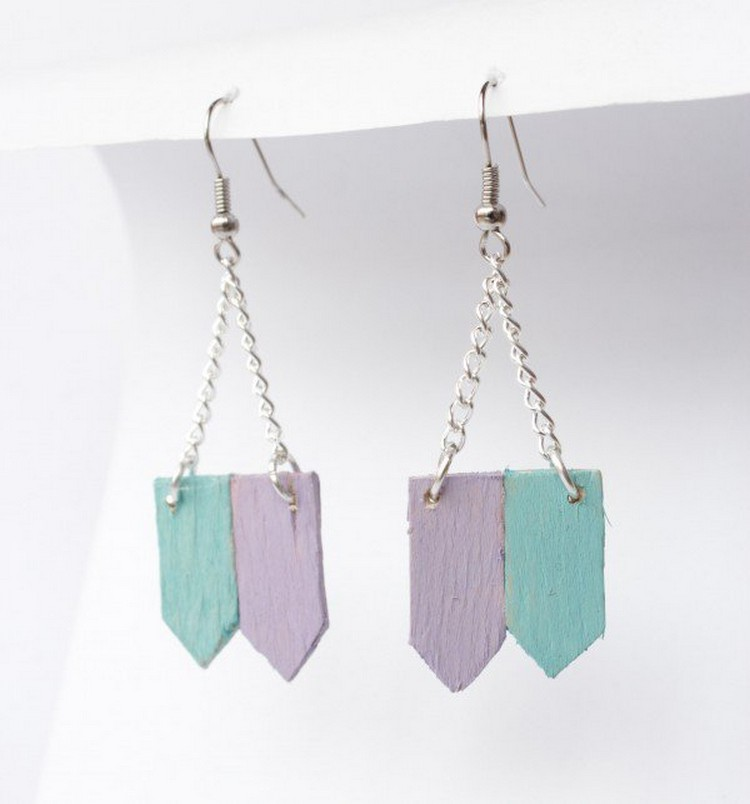 Popsicle Stick Earrings