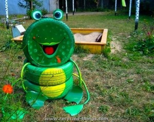 Recycled Tires Ideas
