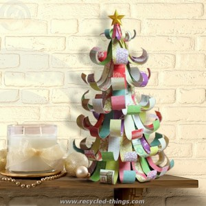 Recycled Tree Paper Craft