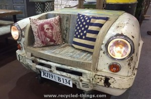Upcycled Car Part Chair