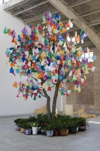 Upcycled Tree Art