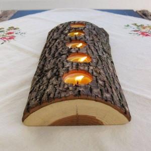 Wood Log Home Decor