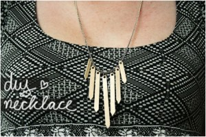 Wooden Sticks Necklace