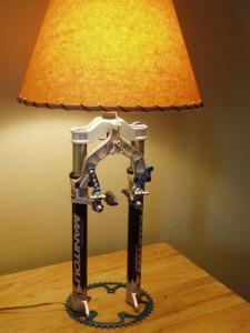 Bike Parts Lamp