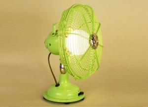 Fan into Lamp