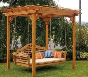 DIY Patio Swing Ideas