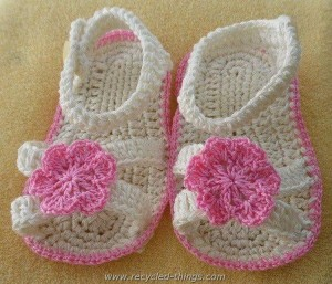 Ideas for Crochet Baby Sandals
