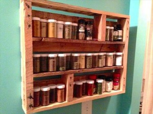 Pallet Spice Rack Ideas