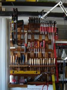 Pallet Tool Rack Plans