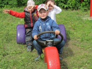 Recycled Automotive Tires for Kids