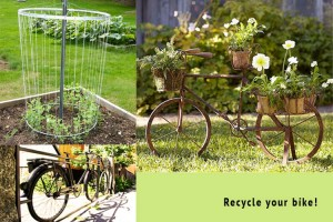 Recycled Bike Ideas