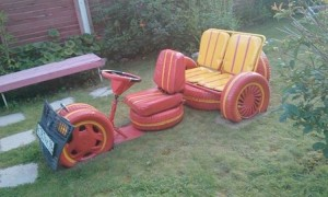 Recycled Tires Projects for Kids