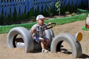 Recycled Tires Van