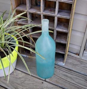 Recycled Wine Bottle Decor
