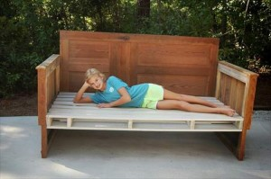 Recycled Wood Pallet Daybed