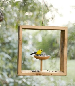 Box Bird Feeder