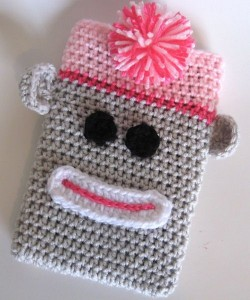 Crochet Mobile Phone Pouch