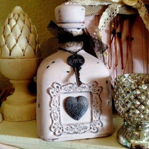 Decor Ideas with Old Bottles