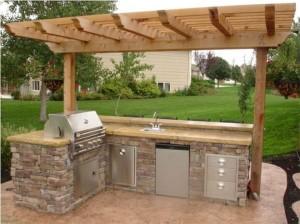 Ideas to Small Outdoor Kitchen