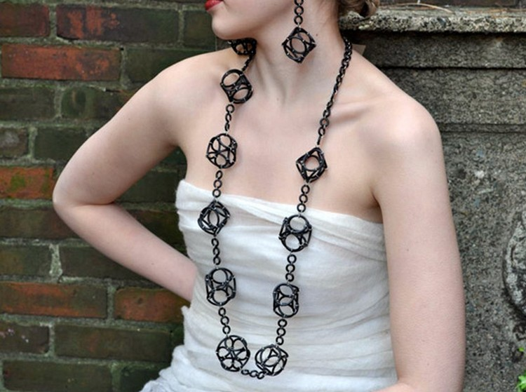 Jewelry from Recycled Rubber