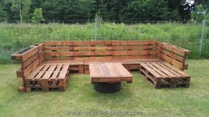 Pallet Garden Setaing Plans