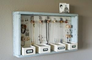 Pallet Jewelry Hangers