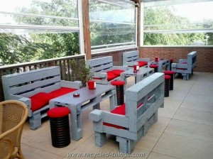 Recycled Wood Pallet Furniture Ideas