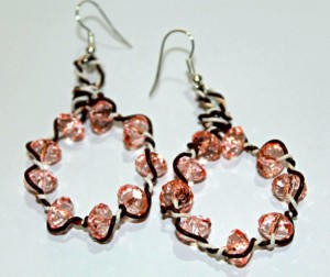 Recycled Wire Earrings