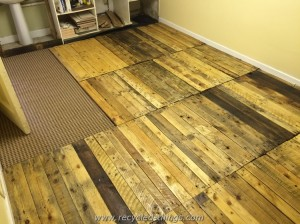 Removable Pallet Floor