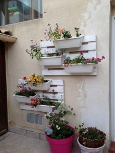 Wall Pallet Planters