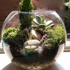 Wonderful Miniature Terrarium Decor Ideas