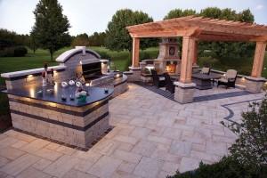 Wonderful Outdoor Kitchen