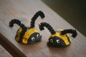 Animals Made from Walnut
