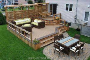 Garden Deck Idea