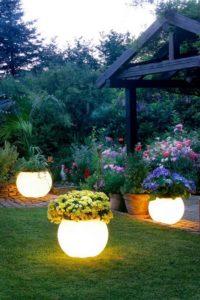 Garden LED Planters