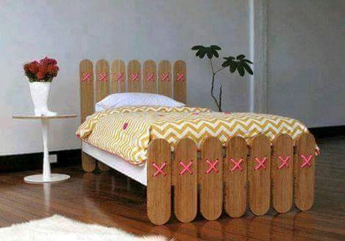 Ice Sticks Kids Bed
