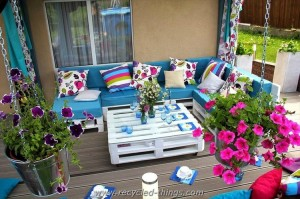 Some Superb Pallet Furniture Ideas