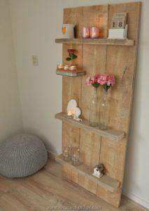 Pallet Wall Decor Shelves