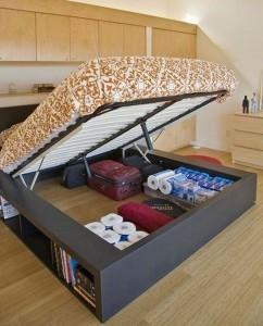 Space Saving Bed Idea
