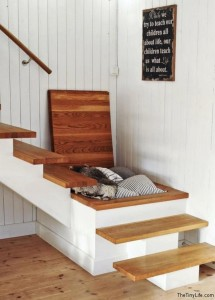 Stairs Space Saving Idea