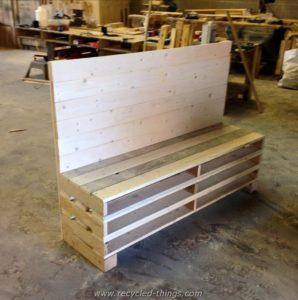 Unique Pallet Bench