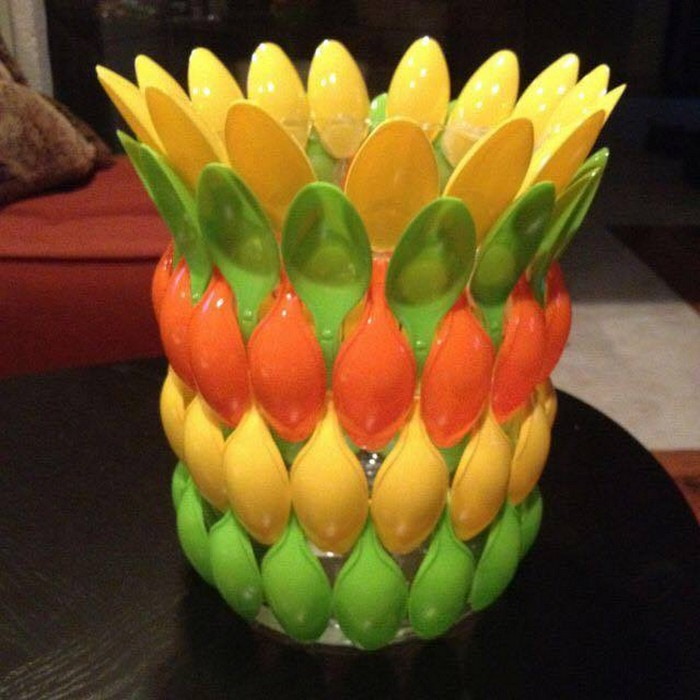 Upcycled Plastic Spoons